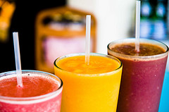 Smoothies that cause an endorphin rush are unhealthy. Photo by City Java Smoothies via Flickr.